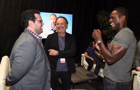 Josh Gad, Billy Crystal and Sterling K. Brown