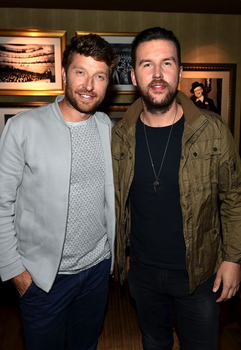 Brett Eldredge and T.J. Osborne