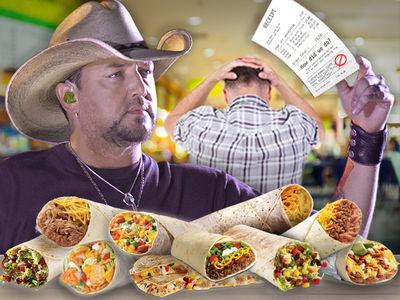 Jason Aldean's $500 Burrito Order Gets Employee Fired