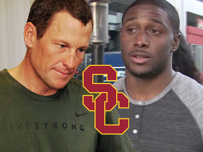 Lance Armstong Blasts USC, You Crapped On Reggie Bush!