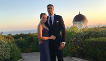 Lakers' Larry Nance Jr. Proposes to Model GF with Massive Ring
