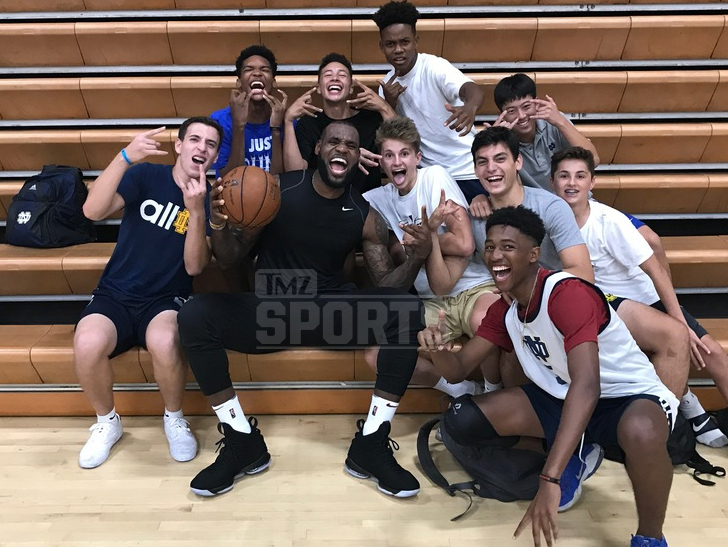 5715ea83e364 LeBron owns a home in Brentwood and there s talk he could be checking out  various private schools to send his kids -- including 12-year-old Bronny