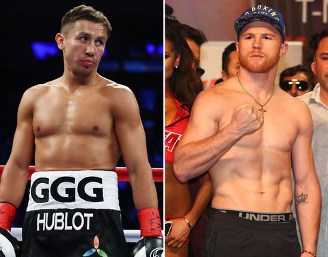 Gennady Golovkin (35) vs. Canelo Alvarez (27) -- Boxing Edition