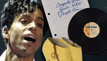Prince's 'Purple Rain' Handwritten Notes Hit Auction for Thousands!