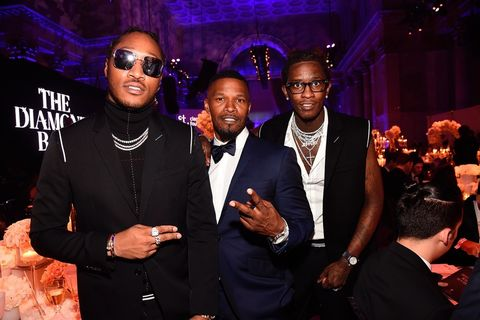 Future, Jamie Foxx and Young Thug