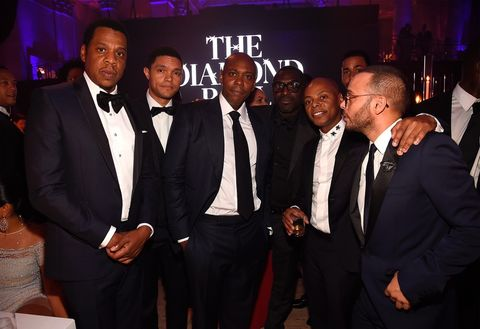 Jay Z, Trevor Noah, Dave Chappelle, Tyran Smith and Richie Akiva