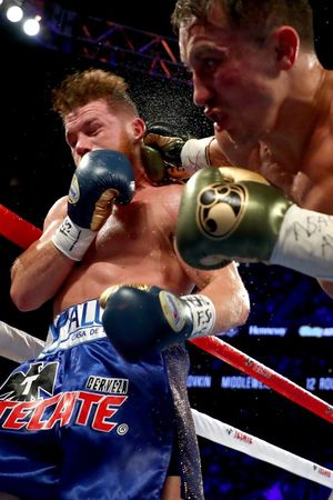 Canelo  vs. GGG -- Fight Photos