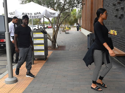 Kevin Hart and Eniko Parrish Do Lunch Together with Extortion, Cheating Scandal Looming
