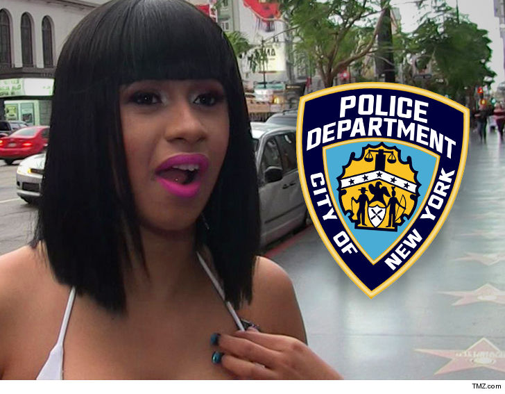 Cardi B's claim she was choked out by a cop doesn't pass NYPD's smell test  -- at least for now -- 'cause they can't find any evidence of it .