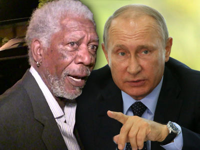 Morgan Freeman Pisses Off All of Russia with Anti-Putin Video ... Says Russian News