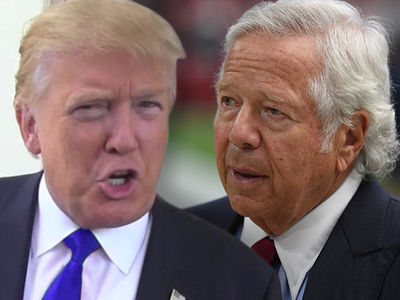 Donald Trump Appears to Flip Off Patriots Owner Robert Kraft After His Statement