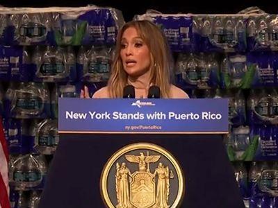 Jennifer Lopez Announces $1 Million Dollar Donation to Puerto Rico Hurricane Relief