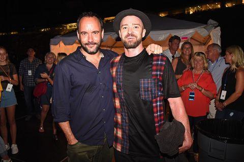 DAve Matthews and Justin TImberlake