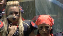 Legends Football League Shades NFL, We Don't Get On Our Knees!
