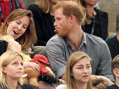 Prince Harry Unleashes Adorable Baby Faces for Little Girl at Invictus Games