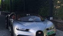 Cristiano Ronaldo Shows Off New $2.9 Million Bugatti Chiron