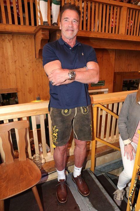 Arnold Schwarzenegger!