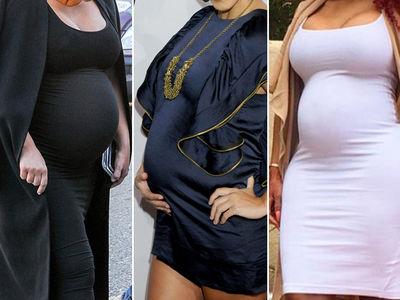 Kardashians About To Pop -- Guess Whose Baby Bump!