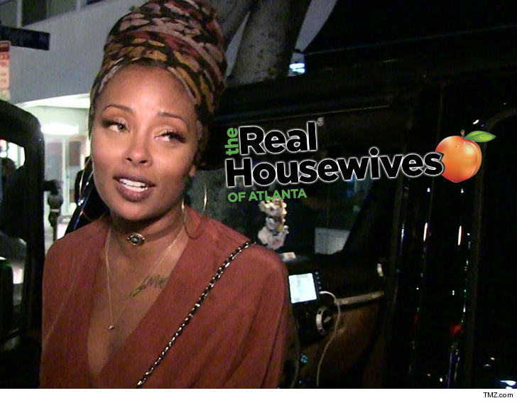 americas next top model winner eva marcille has a real chance of joining next seasons cast of real housewives of atlanta because shes already
