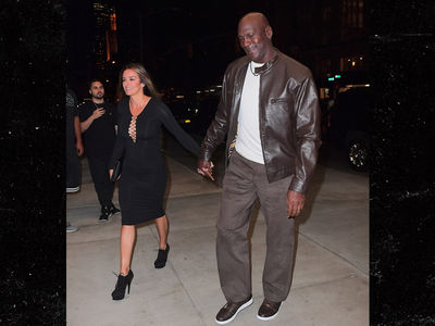 Michael Jordan Takes Hot Wife to Dinner In Rare $400 Air Jordans
