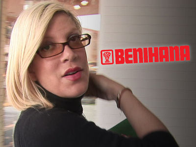 Tori Spelling Settles with Benihana Over Burns Suffered at Restaurant