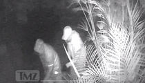 Byron Scott Burglary: Cameras Capture Two Men In Bushes
