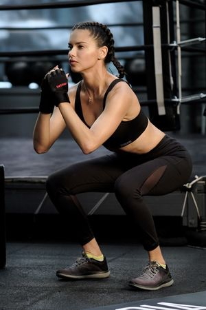Adriana Lima's Sexy Workout Shots