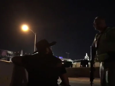 Dan Bilzerian Begs Vegas Cops, Give Me a Gun and I'll Help!!!