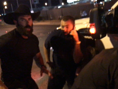 Dan Bilzerian Searched Police Truck Amid Vegas Shooter's Gunfire