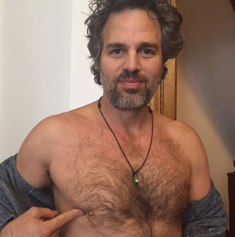 hot guys with hairy chests