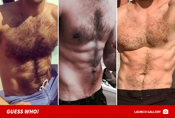 Can man hairy chest male models