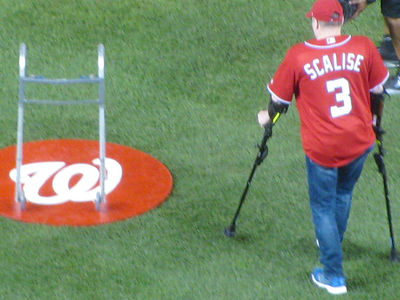 Rep. Steve Scalise: D.C. Shooting Victim Throws 1st Pitch at Nats Playoff Game