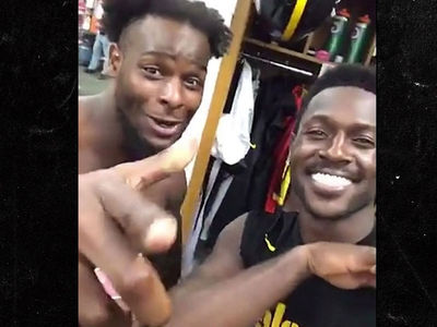 Le'Veon Bell's Locker Room Freestyle: 'Trying To Get That Money'