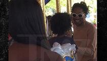Future, Baby Future and Fam Do Disneyland