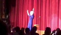 Kathy Griffin Wears Trump Mask, Flips Bird in Stand-up Return