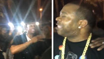 Marlon Wayans & Busta Rhymes Bust Out Freestyle Rap Battle!!!
