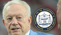 NAACP Slams Jerry Jones, 'Tone-Deaf and Unconstitutional'