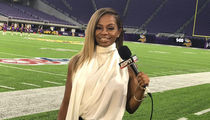 ESPN's Josina Anderson Fires Back at Trump, Stop Attacking Jemele!
