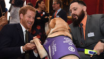 Prince Harry Dogs It with British War Hero and It's a Very Good Thing