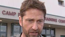 Gerard Butler Hospitalized After Motorcycle Accident
