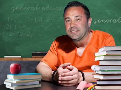Joe Giudice Getting G.E.D. in Prison, Loses 45 lbs.