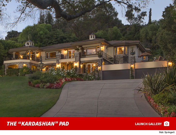 The Giant House You Ve Seen On Keeping Up With Kardashians Posing As Kris Jenner S Home Even Though It Really Isn T Is For