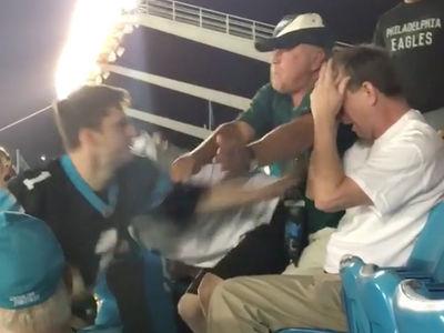 Panthers Stadium Fight: Victim Files Police Report