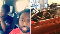 Dwyane Wade Shuts Down Son's Ferrari Dream in Car Dealership Visit