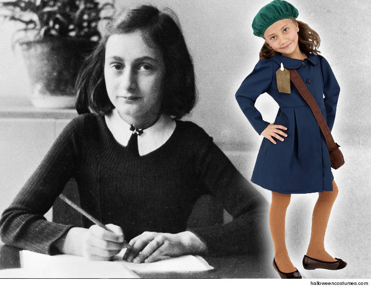 some genius thought holocaust victim anne frank would make one helluva halloween costume for kids but the institution named for anne is just glad the