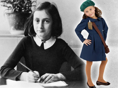 Anne Frank Center Disgusted by Anne Frank Halloween Costume, Glad It's Pulled