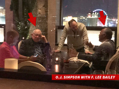 O.J. Simpson Parties Like It's 1995 with F. Lee Bailey