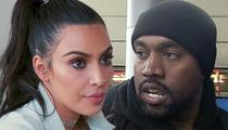 Kim Kardashian & Kanye West's Security Pulled Guns on Car Thief