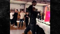 Kobe Bryant Hits Awesome Trick Shot During Photo Shoot