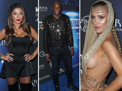 MAXIM Halloween Party Gets Tricky